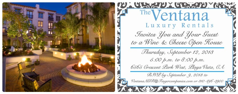 the ventana open house playa vista