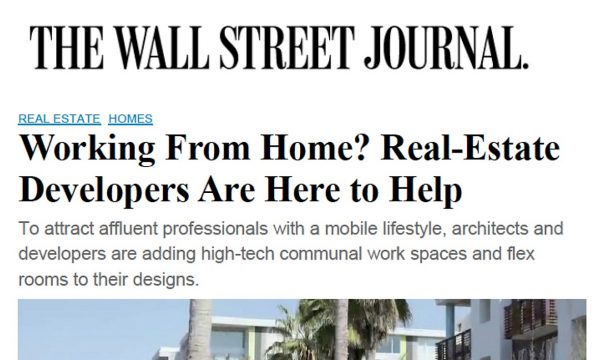 Work from Home in Playa Vista, Wall Street Journal