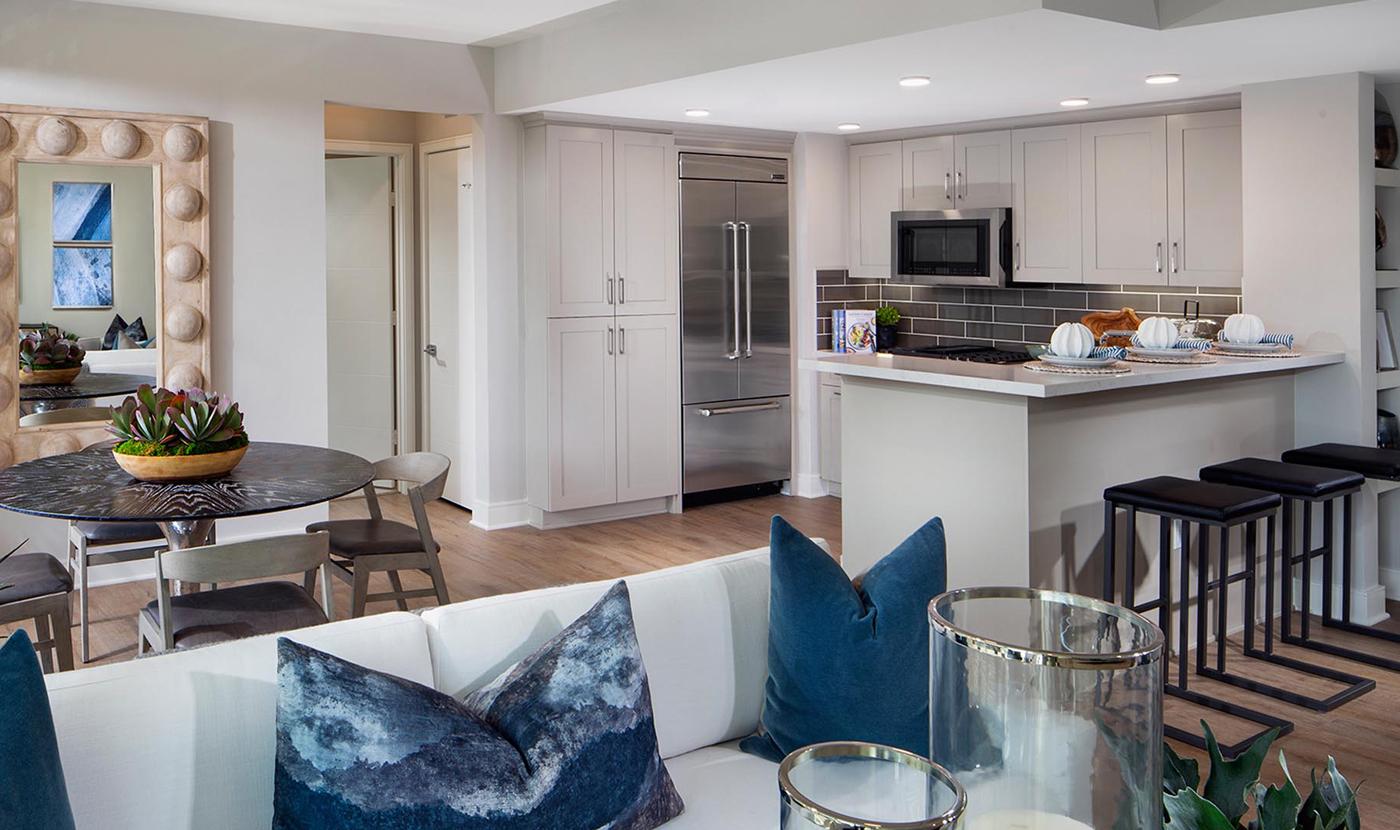 Seabluff at Playa Vista new kitchen