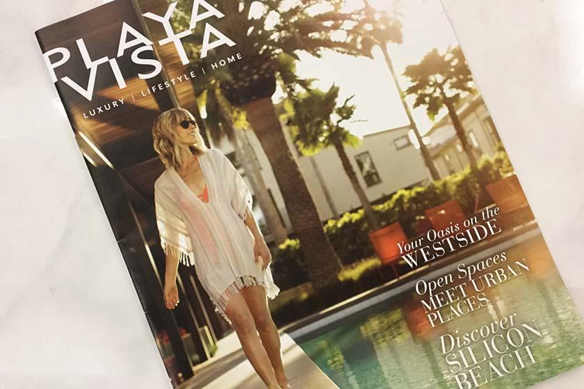 Take a Look at Playa Vista Magazine