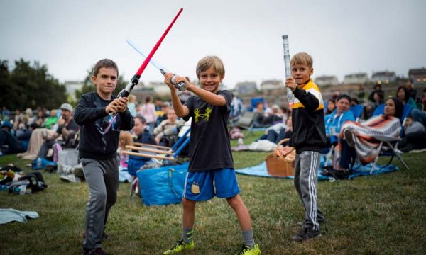 Movies in the Park: Star Wars
