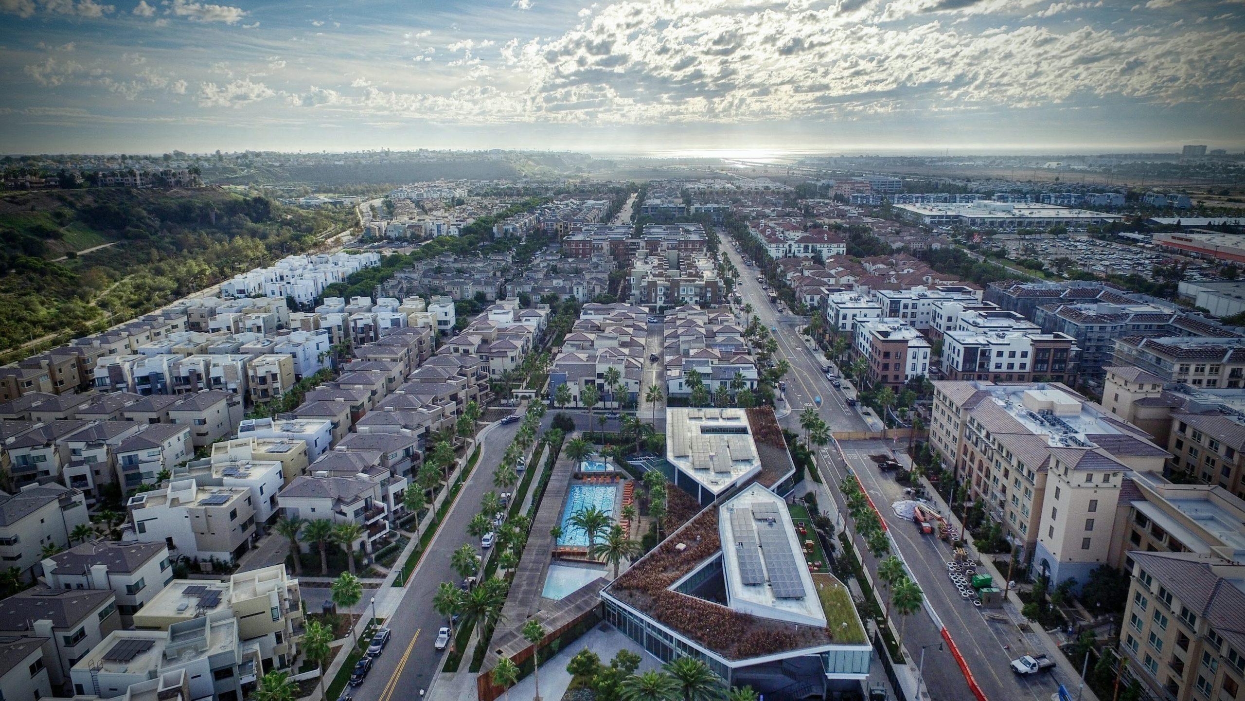 View of Playa Vista CA