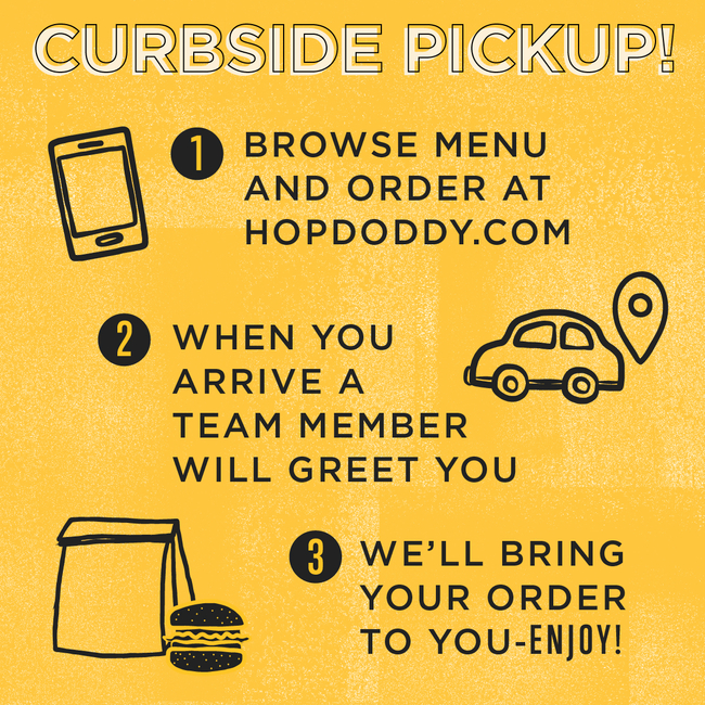 Hopdoddy curbside pickup