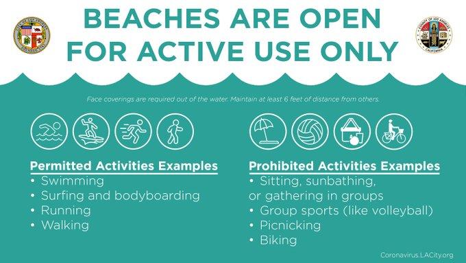 Local Beach Info Playa Vista